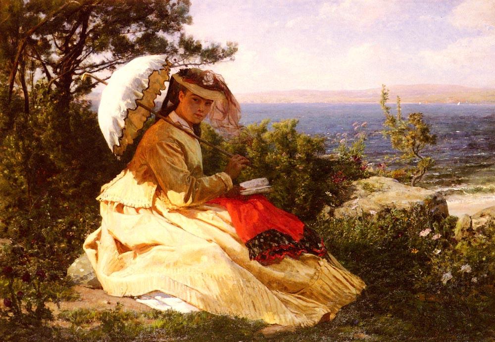 La Femme A L Ombrelle